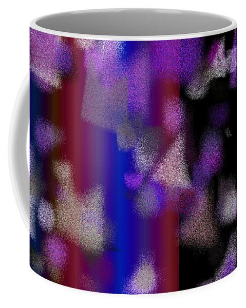 Abstract Coffee Mug featuring the digital art T.1.736.46.16x9.9102x5120 by Gareth Lewis