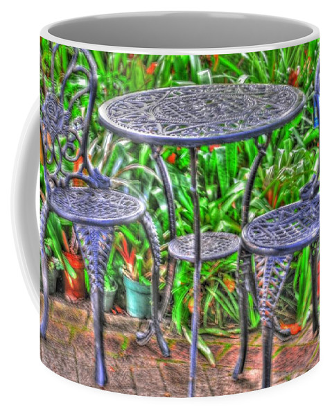 Table Coffee Mug featuring the photograph Table For Two by Kathleen Struckle