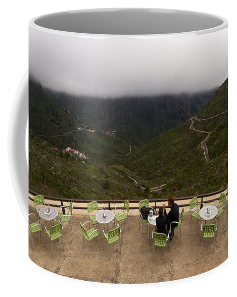 Landscape Coffee Mug featuring the photograph Table With A View by Jouko Lehto