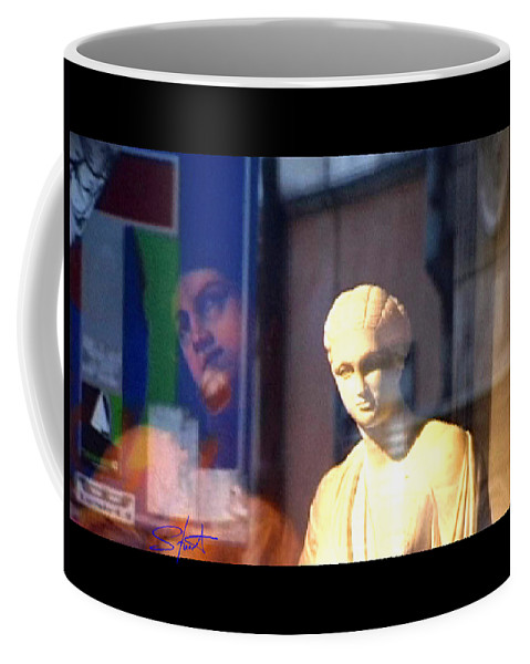 Rome Coffee Mug featuring the photograph Tableau by Charles Stuart