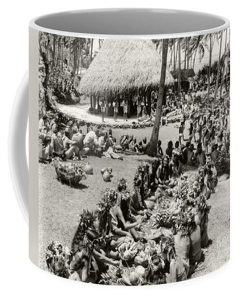 Tahiti Coffee Mug featuring the photograph Tahitian Celebration by Sad Hill - Bizarre Los Angeles Archive