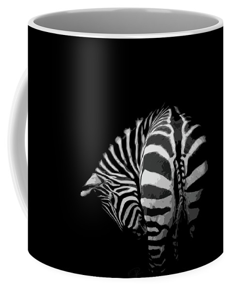 Zebra Coffee Mug featuring the photograph Take A Bow by Paul Neville