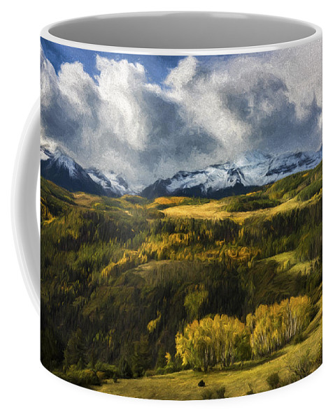 Art Coffee Mug featuring the digital art Take It In II by Jon Glaser