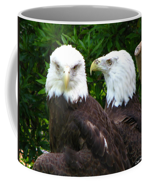 Coffee Mug featuring the photograph Talking To Me by Greg Patzer