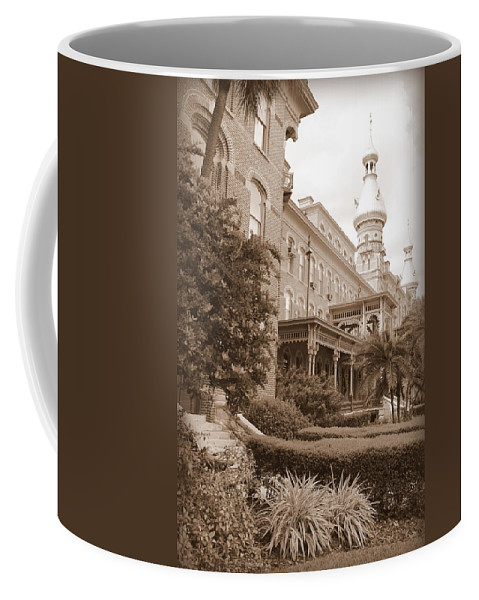 Tampa Coffee Mug featuring the photograph Tampa Gem In Sepia by Carol Groenen