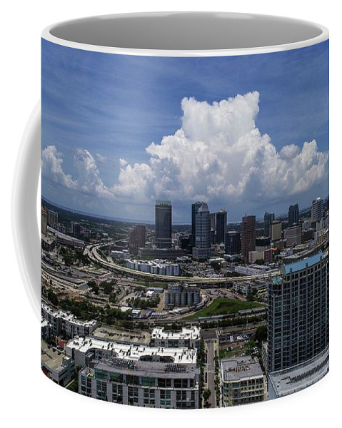 Tampa Coffee Mug featuring the photograph Tampa by Patrick Donovan