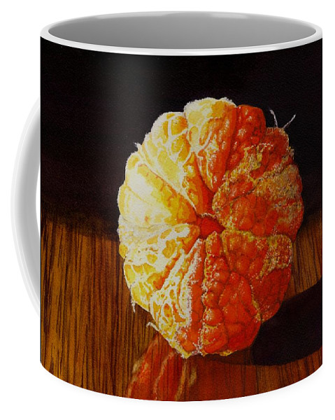 Still Life Coffee Mug featuring the painting Tangerine by Catherine G McElroy