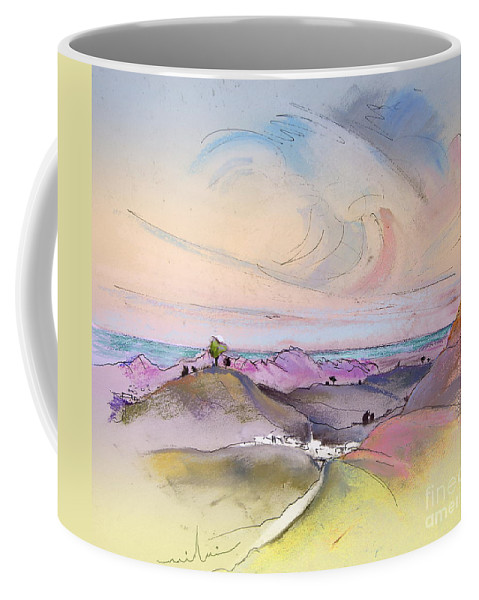 Tarbena Painting Coffee Mug featuring the painting Tarbena 07 by Miki De Goodaboom