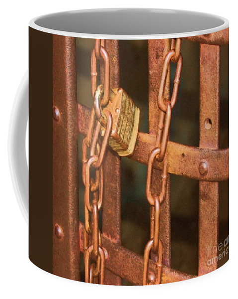 Metal Coffee Mug featuring the photograph Tarnished Image by Debbi Granruth