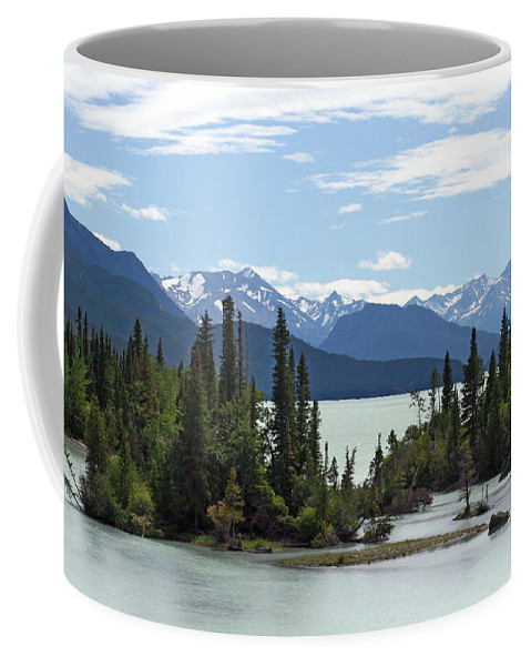Nature Coffee Mug featuring the photograph Taseko Lake by Ursula Salzmann