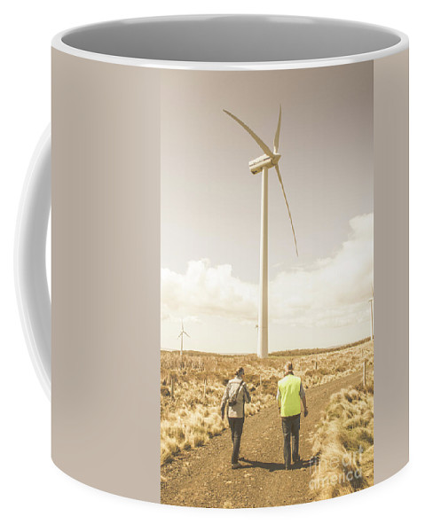 Turbine Coffee Mug featuring the photograph Tasmania Turbine Tours by Jorgo Photography - Wall Art Gallery