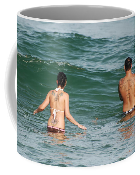 Sea Scape Coffee Mug featuring the photograph Tattoo Family by Rob Hans