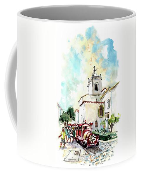 Travel Coffee Mug featuring the painting Tavira 05 by Miki De Goodaboom