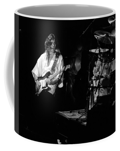 Tommy Bolin Coffee Mug featuring the photograph Tb76#16 by Ben Upham