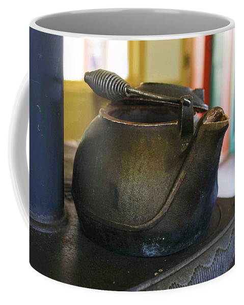 Tea Kettle Coffee Mug featuring the photograph Tea Kettle by Nelson Strong