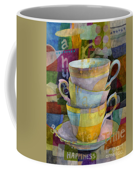 Tea Time Coffee Mug featuring the painting Tea Time by Hailey E Herrera