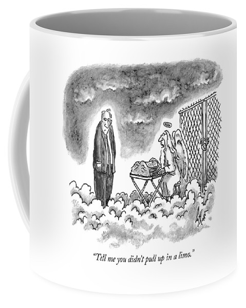 Tell Me You Didn T Pull Up In A Limo Coffee Mug For Sale By Frank Cotham