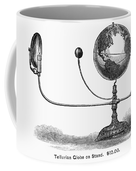 19th Century Coffee Mug featuring the photograph Tellurian Globe by Granger
