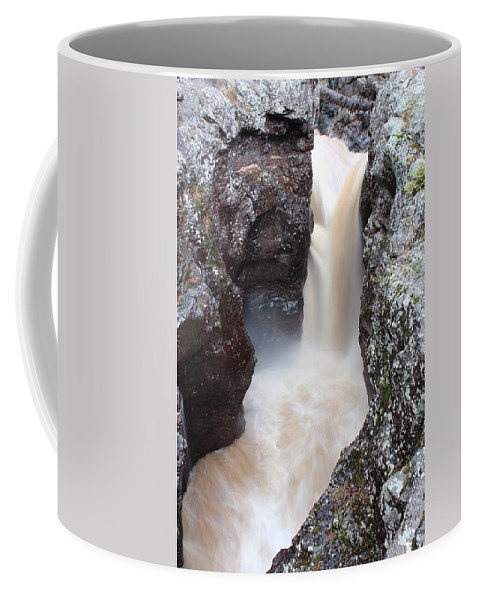 North Coffee Mug featuring the photograph Temperance River State Park Four by Nicholas Miller