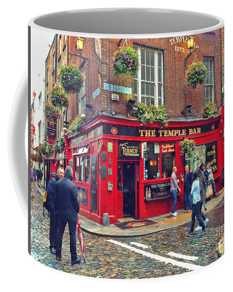 Temple Bar Coffee Mug featuring the photograph Temple Bar 0554 by Jack Schultz
