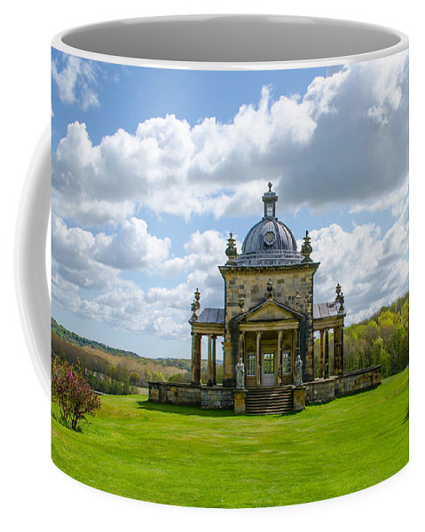 Temple Coffee Mug featuring the photograph Temple Of The Four Winds by Shanna Hyatt