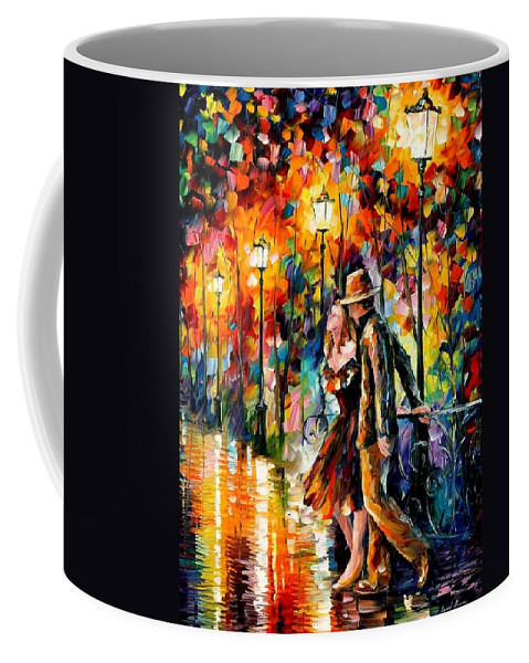 Scenery Coffee Mug featuring the painting Tempter by Leonid Afremov