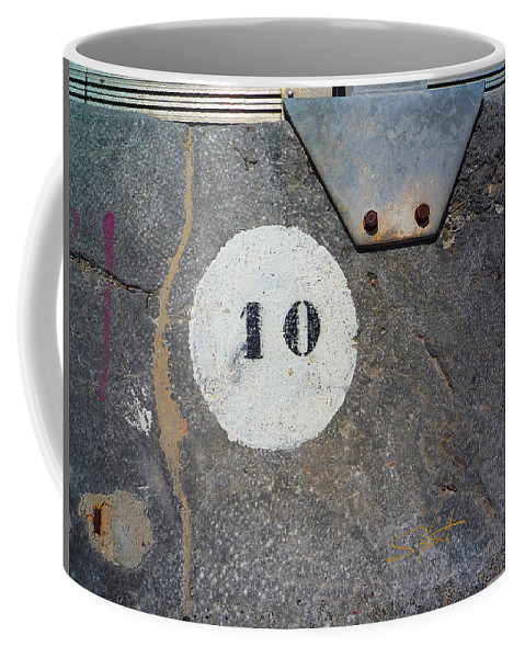 Number Coffee Mug featuring the photograph Ten by Charles Stuart
