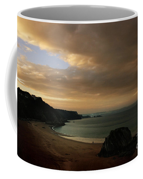Tenby Coffee Mug featuring the photograph Tenby by Angel Tarantella