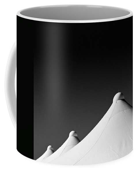 Tent Tops Coffee Mug featuring the photograph Tent Tops by Dave Bowman