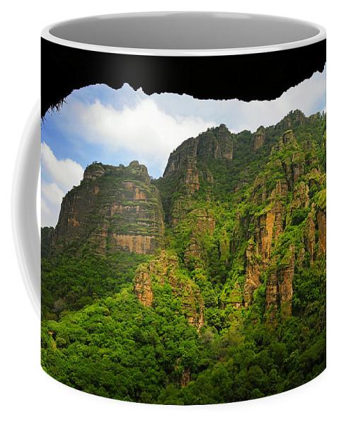 Skip Hunt Coffee Mug featuring the photograph Tepozteco by Skip Hunt