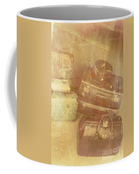 Old Coffee Mug featuring the photograph Terminal Goodbye by Jorgo Photography - Wall Art Gallery