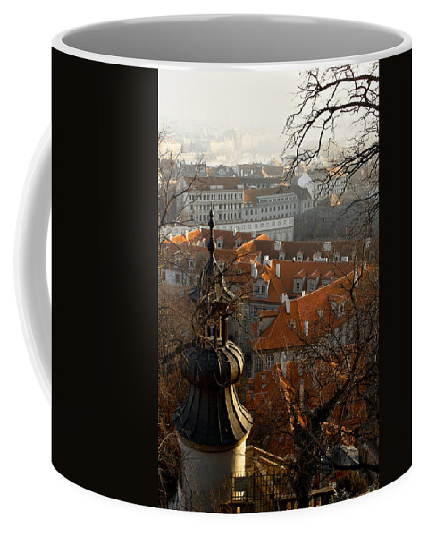 Lawrence Coffee Mug featuring the photograph Terracotta Crowns by Lawrence Boothby