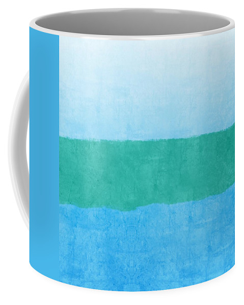 Blue Coffee Mug featuring the photograph Test by Linda Woods