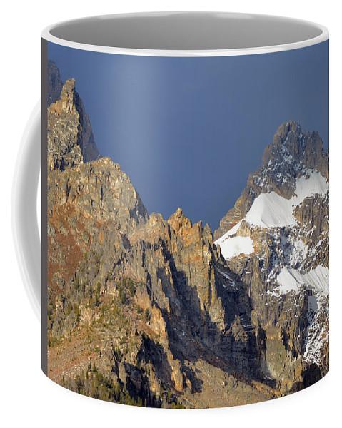Tetons Coffee Mug featuring the photograph Teton Peaks by Whispering Peaks Photography