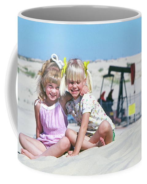 Best Coffee Mug featuring the photograph Texas Best Friends by Buddy Mays