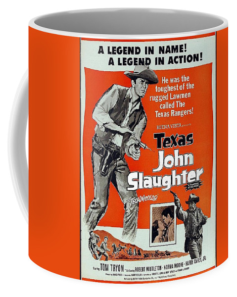 Texas John Slaughter Pressbook For Feature Compiled From Tv Show 1958-1961  Episodes Coffee Mug