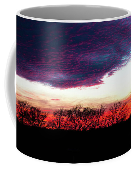 Texas Coffee Mug featuring the photograph Texas Sunset by Lisa Bell