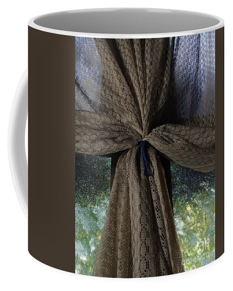 Texture Coffee Mug featuring the photograph Texture And Lace by Peter Piatt