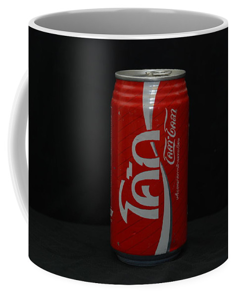 White Coffee Mug featuring the photograph Thai Coke by Rob Hans