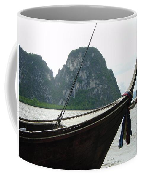 Thailand Coffee Mug featuring the photograph Thai Taxi by D Turner