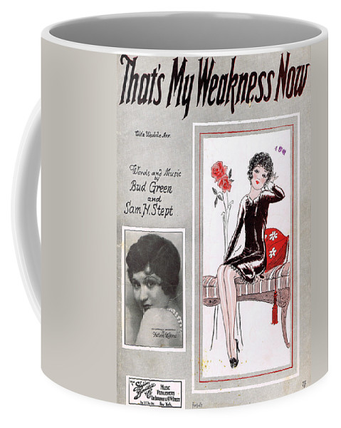 Classic Coffee Mug featuring the photograph That's My Weakness Now by Mel Thompson
