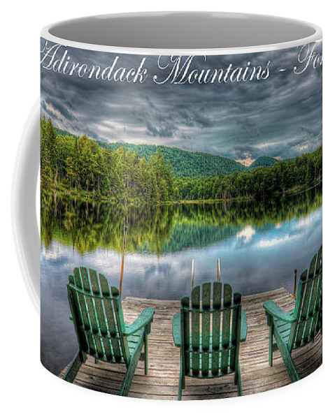 The Adirondack Mountains - Forever Wild Coffee Mug featuring the photograph The Adirondack Mountains - Forever Wild by David Patterson