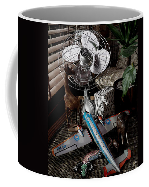 Still Life Coffee Mug featuring the photograph The African Fantasy by Charles Stuart