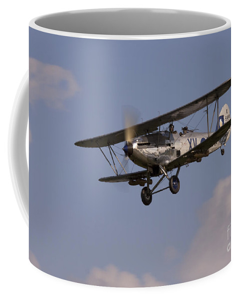 Airshow Coffee Mug featuring the photograph The Aircraft by Angel Ciesniarska