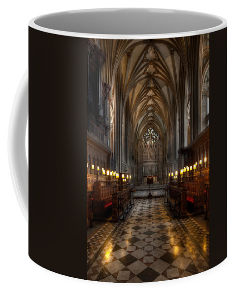 Architecture Coffee Mug featuring the photograph The Altar by Adrian Evans