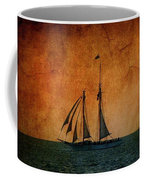 The America Coffee Mug featuring the photograph The America In Key West by Susanne Van Hulst