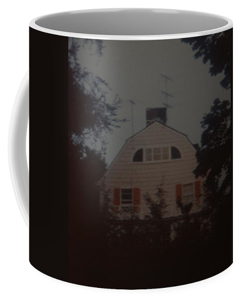 The Amityville Horror Coffee Mug featuring the photograph The Amityville Horror by Rob Hans