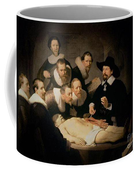 The Anatomy Lesson Of Doctor Nicolaes Tulp Coffee Mug For Sale By