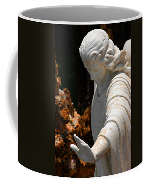 Angels Coffee Mug featuring the photograph The Angels Warning by Susanne Van Hulst