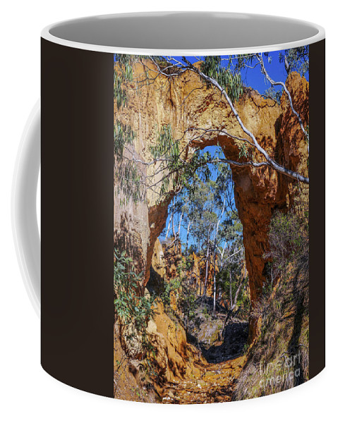 Hill End Series By Lexa Harpell Coffee Mug featuring the photograph Golden Gully Gold Mine by Lexa Harpell